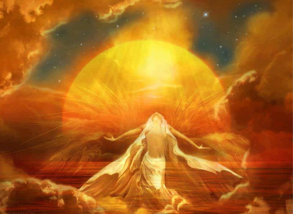 Puisez chaque matin à la source inépuisable du soleil