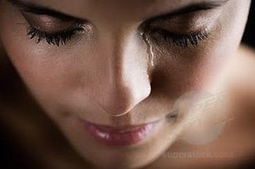 Laissez couler vos larmes