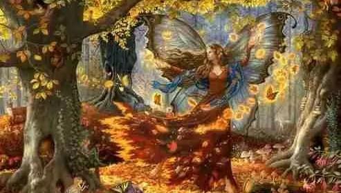 Le message d'une fée : mangez des bourgeons