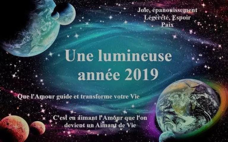 La conscience de l'année 2019