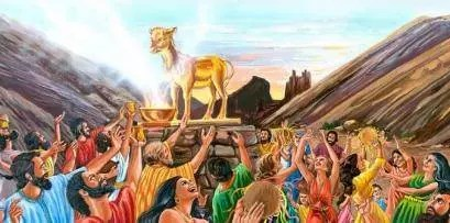L'adoration du veau d'or