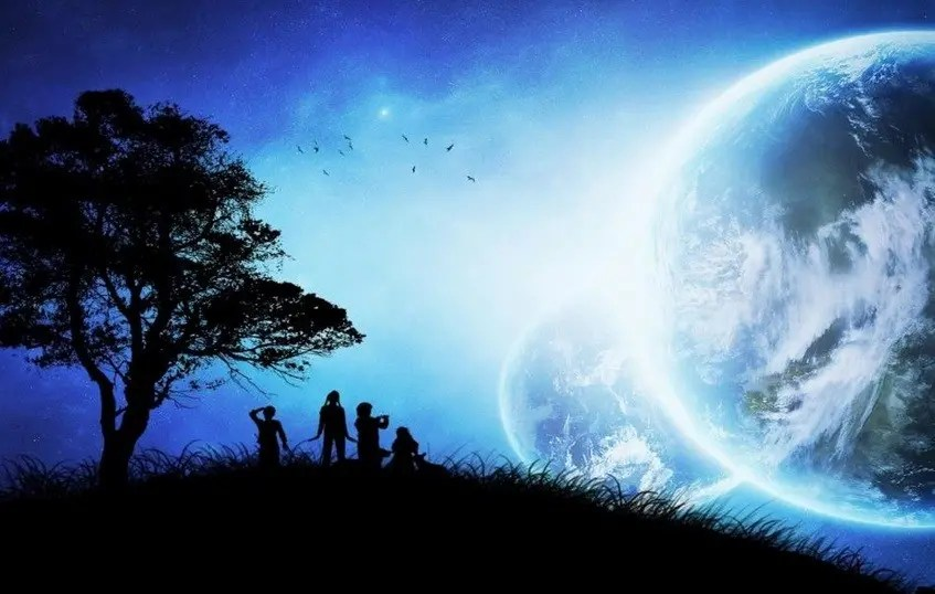 Partager la Nouvelle Terre