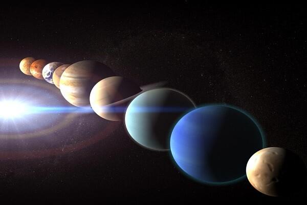 Les planètes s'inclinent devant la simple grandeur de l'être humain divin