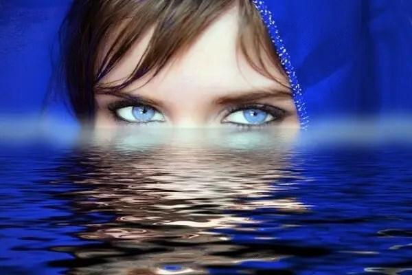 Les yeux sont le miroir de l'âme