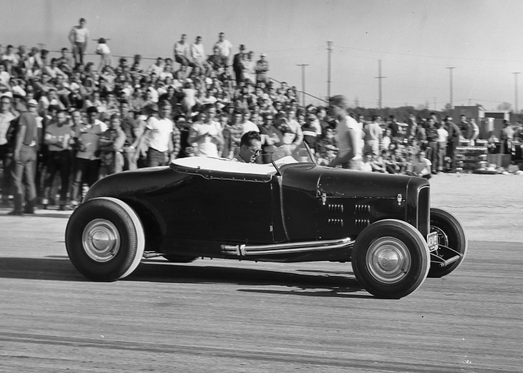 1929 roadster at Pomona 1953