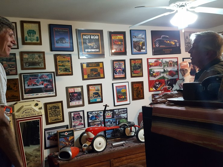 Tom Prufer office and trophy room
