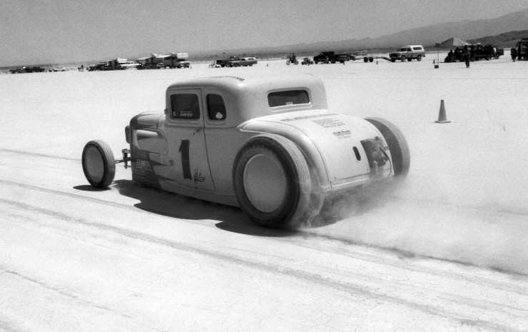 Dry lake racing