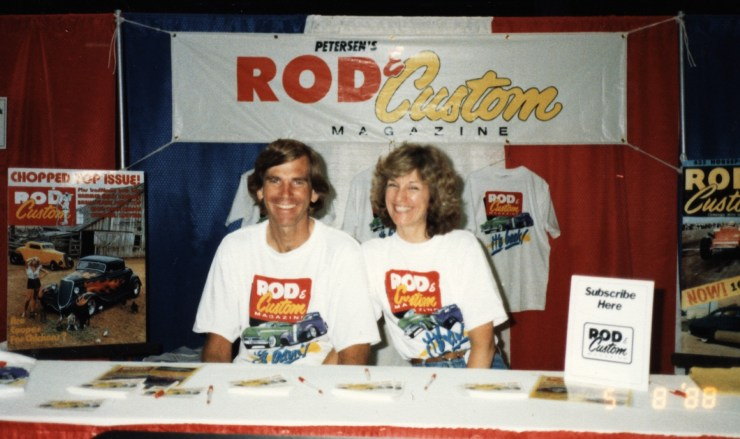 Pat Ganahl and Anna Ganahl for Rod & Custom Magazine