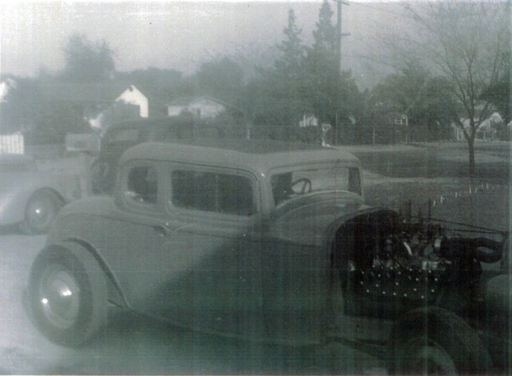"Maurice ""Topper"" Chasse's Deuce hot rod"