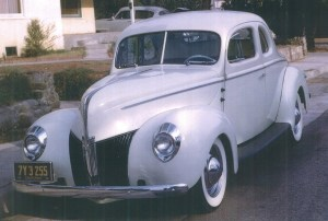 "Maurice ""Topper"" Chasse's '40 Standard coupe"