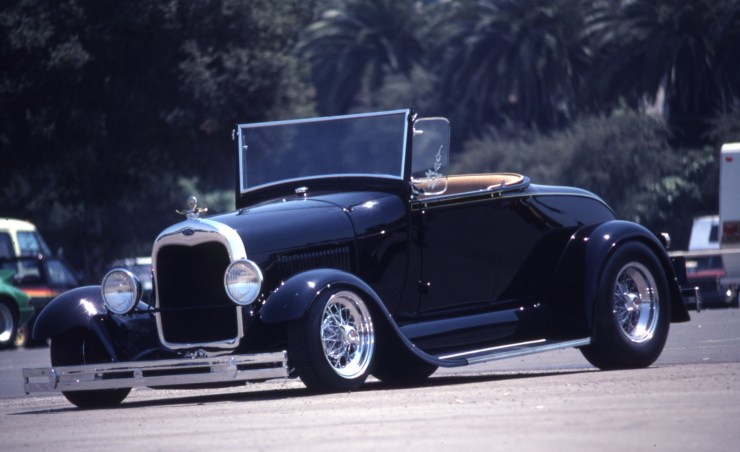 Chuck Hoffman's Model A roadster built by Fat Jack