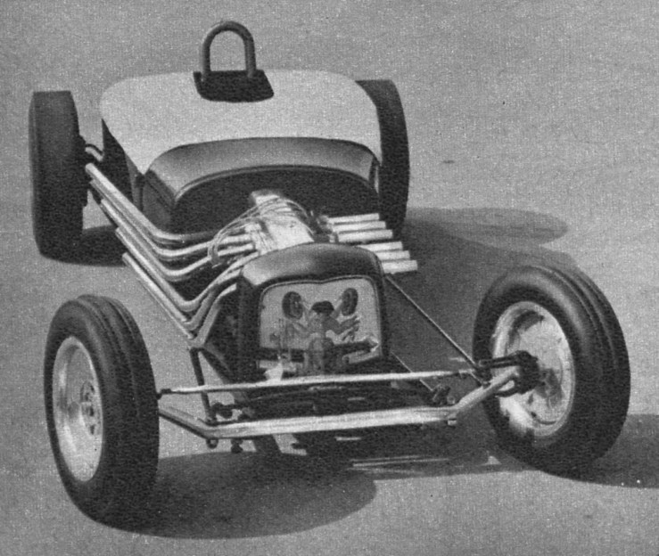 Andrade and Carvalho Wayne 12-Port GMC '27 T drag roadster
