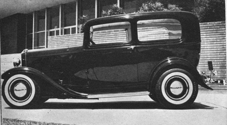 Fred Edsell's '32 Ford Tudor sedan