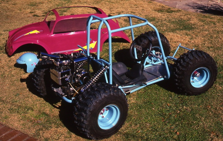 Bill and Pat Ganahl 1985 VW Bug go-kart