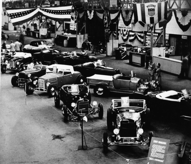The first Oakland Roadster Show in 1950
