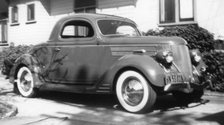 Bill Burke's '36 3-window