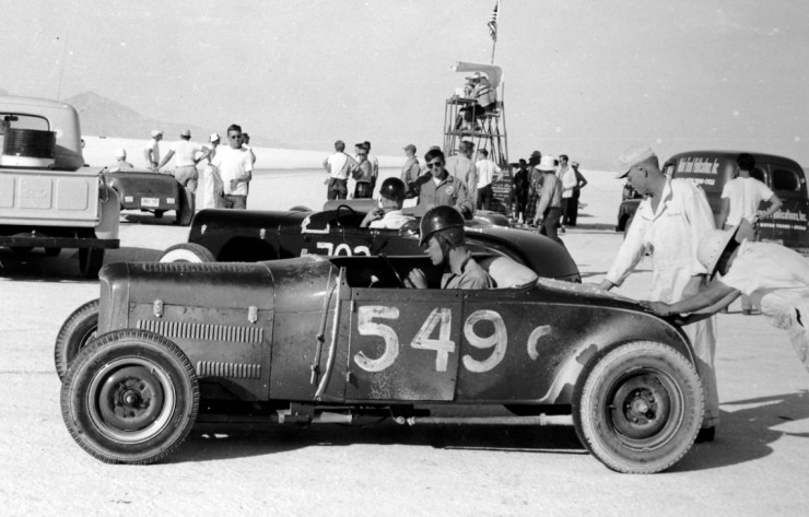 Dry lakes hot rod racing Skip Hudson
