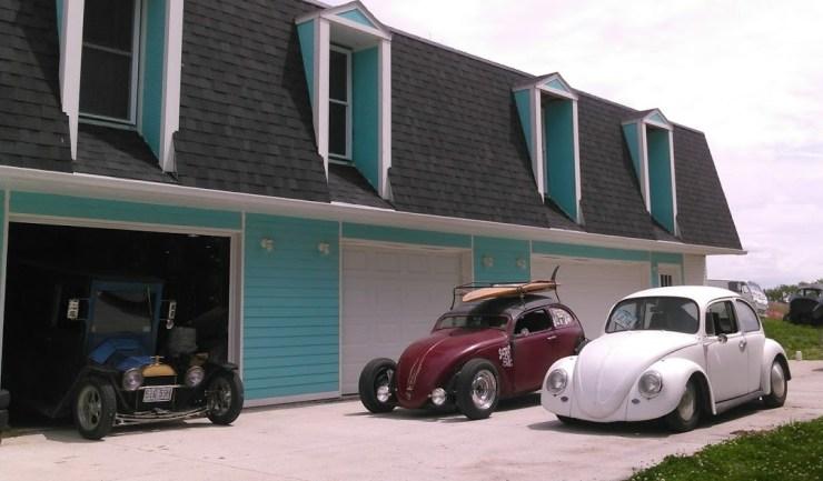 Joey Wagner's VW bugs