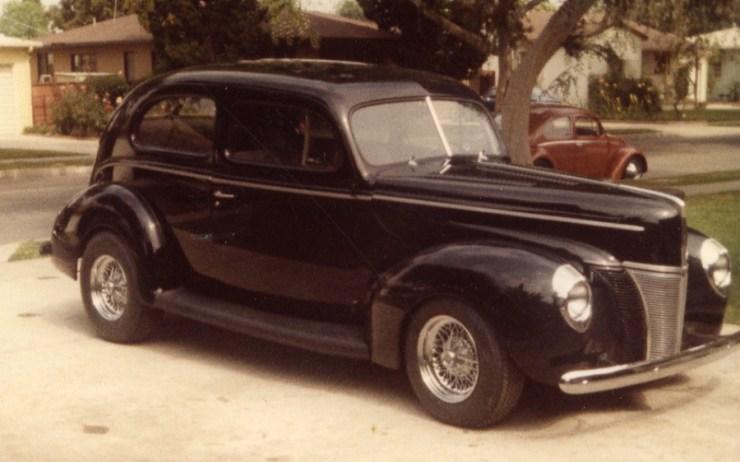 Pat Ganahl 1940 Ford Sedan