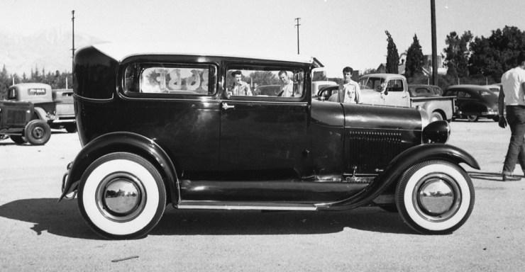 Jack Chrisman's '29 Ford sedan