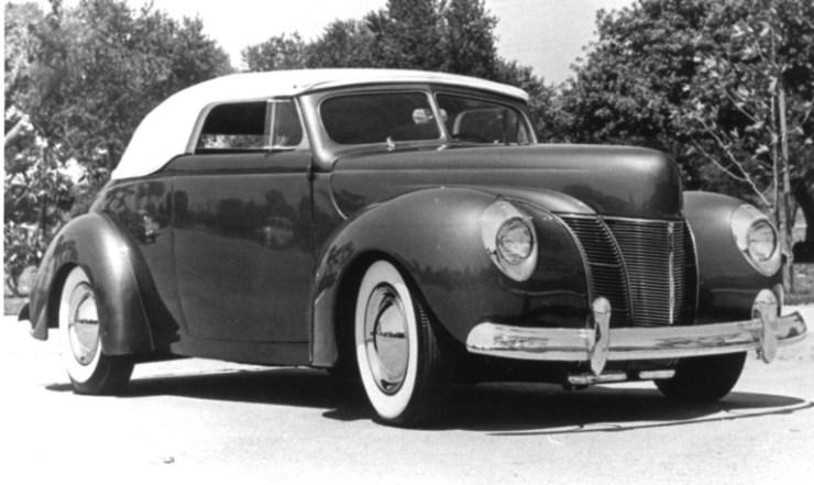 John Geraghty's '40 DeLuxe convertible