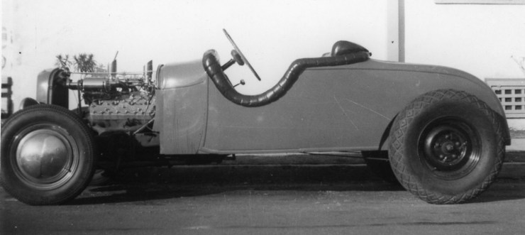'28 Model A hot rod in 1945