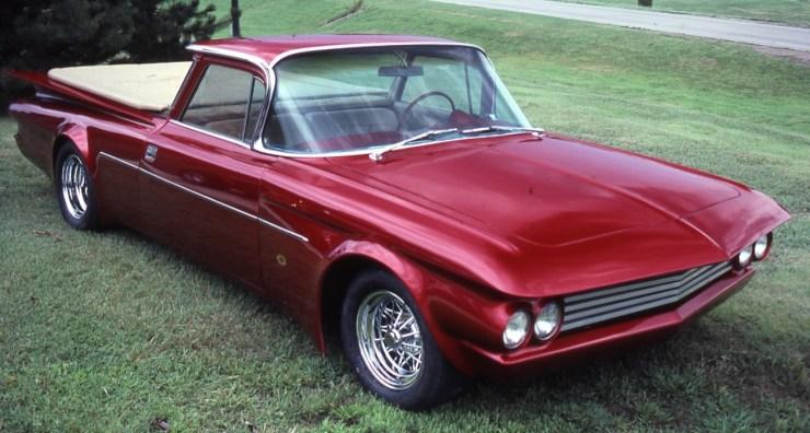Darryl Starbird's custom '50 El Camino