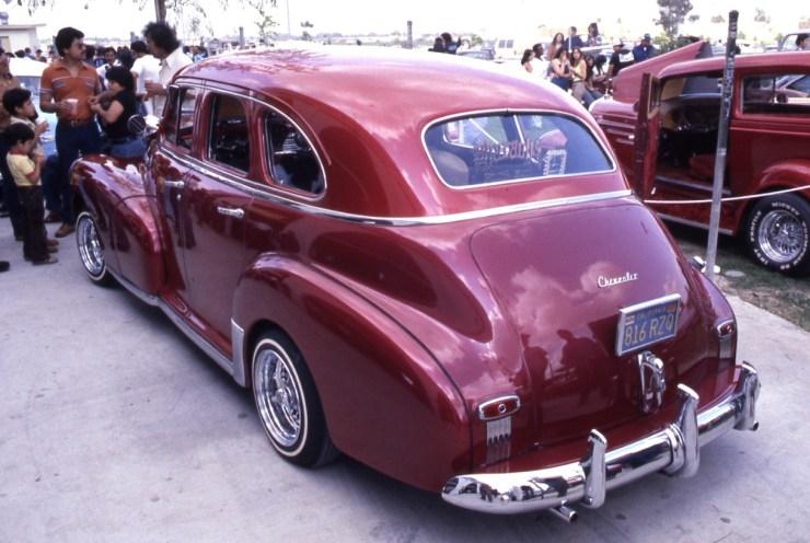 Chevy '48 four door lowrider