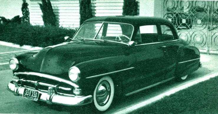 Emory Bozzani's 1952 Plymouth Custom