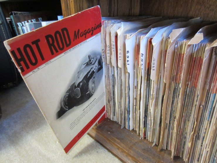 Hot Rod Magazine cover