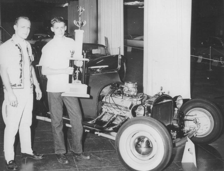 Doyle Gammel 1961 trophy