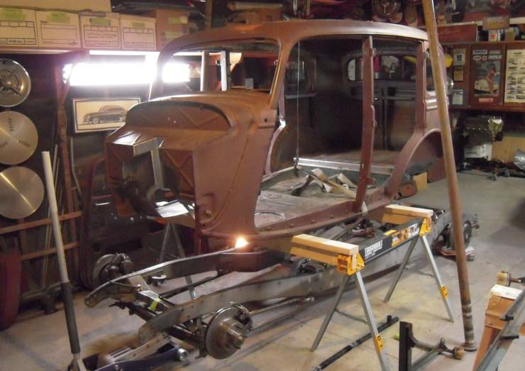 Pat Ganahl's 1933 Fordor sedan