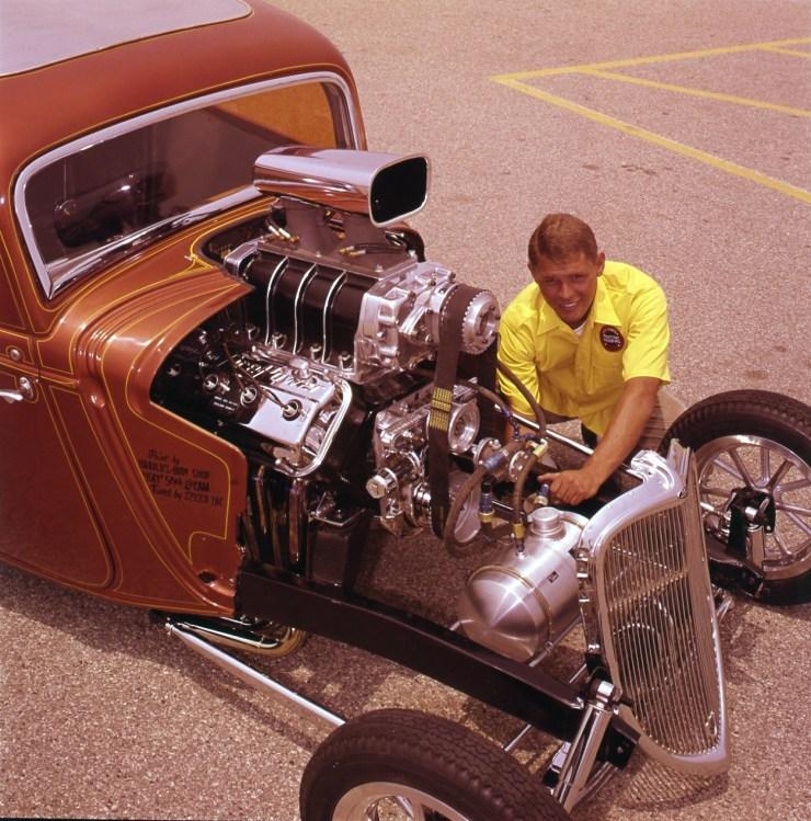Sheldon Schmidt's blown Hemi '34 Comp Coupe