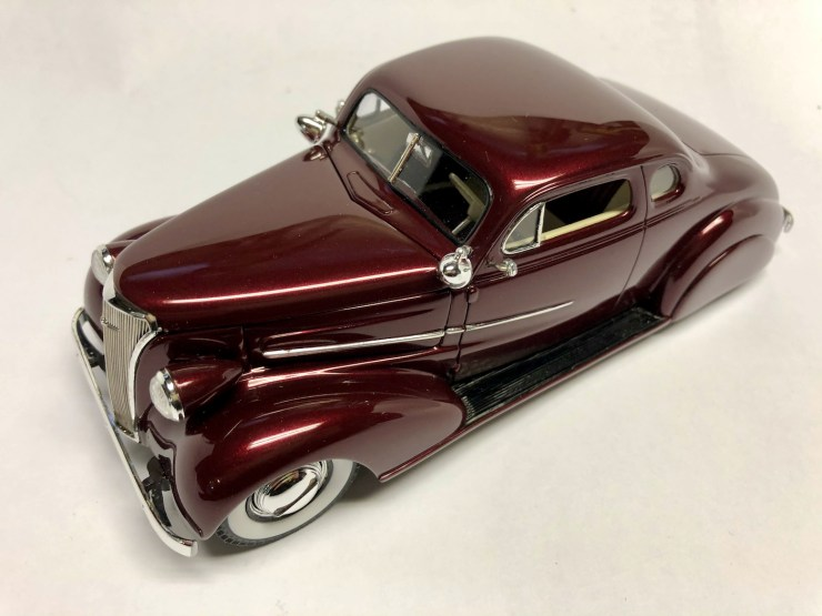 Bryce Michelmore model of custom car