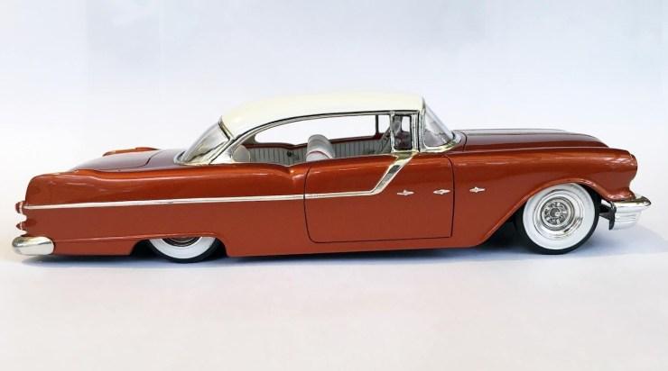 Bryce Michelmore model of 1955 Pontiac