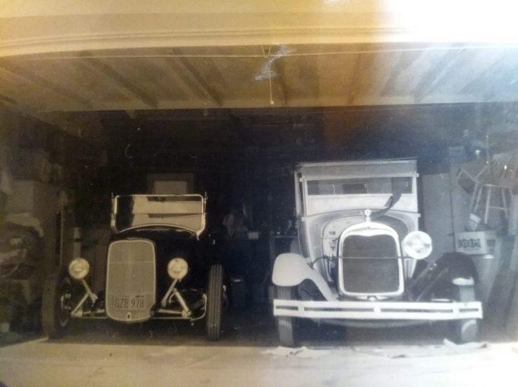 "Bruce ""Doc"" Glen '29 roadster and '29 pickup"