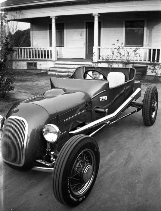 Dick Kraft's roadster