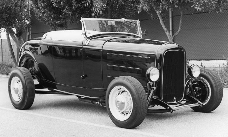 Dick Pickerel's Deuce hiboy roadster