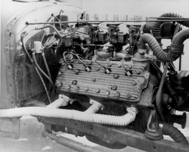 Don Garlits' dragster engine