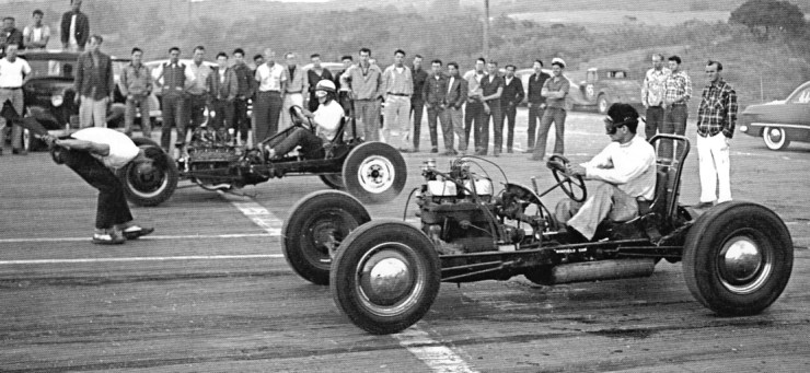 Early dragsters