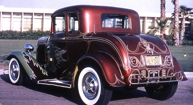 George Sein's '32 Ford 5-window coupe