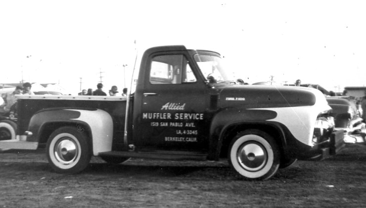 Allied Muffler Service F100 pickup