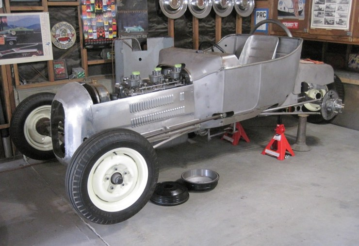 Pat Ganahl's Spalding Bros roadster repro by Marty Strode