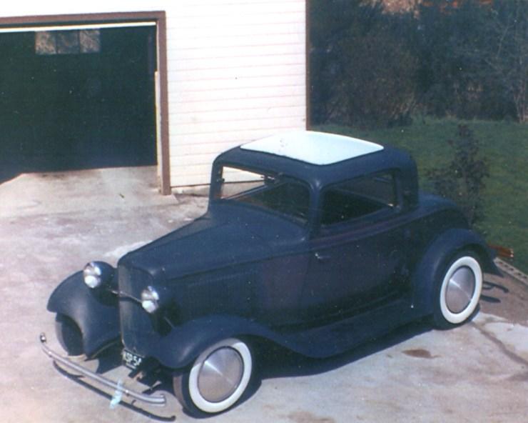 Ken Mahan's '32 3-window coupe