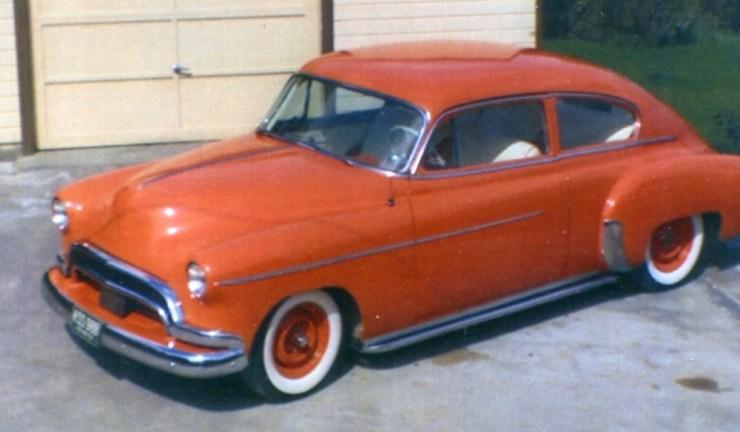 Ken Mahan's '49 Chevy fastback