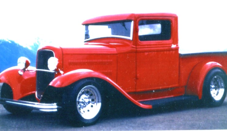 Ken Mahan's '34 pickup truck
