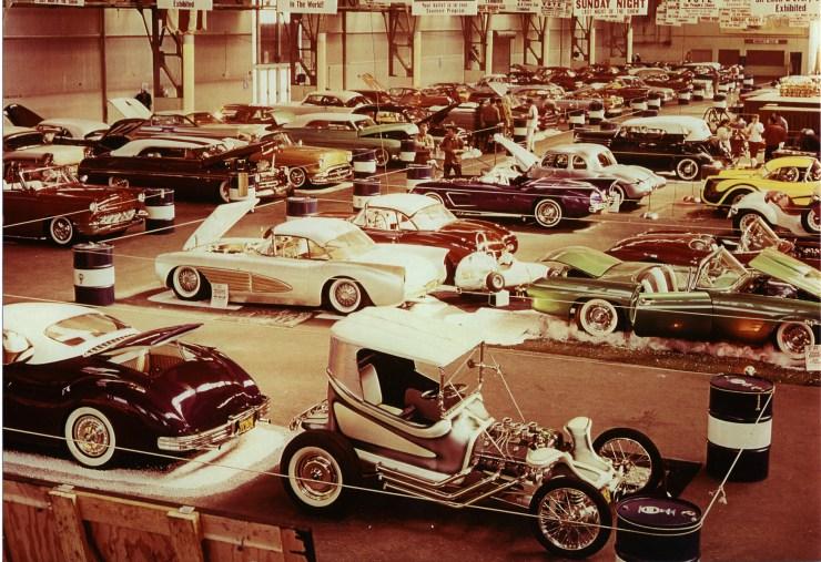 NHRA 1960 Oakland Coliseum hot rod car show