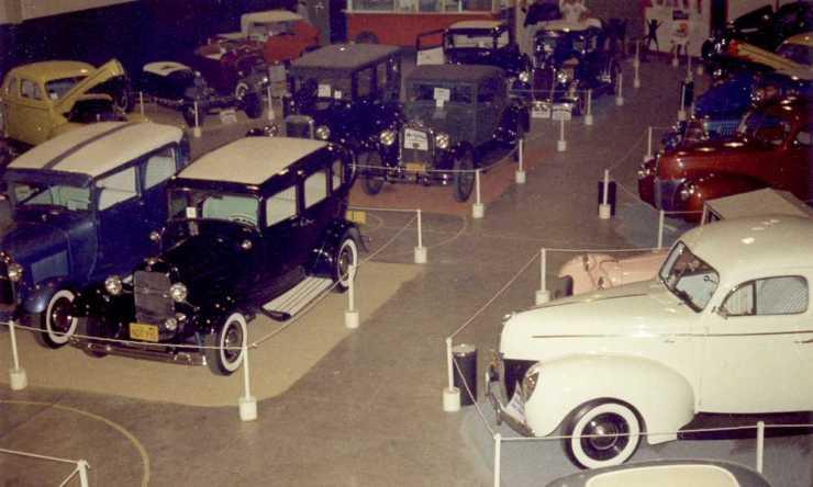 1958 Pasadena High School Car Show