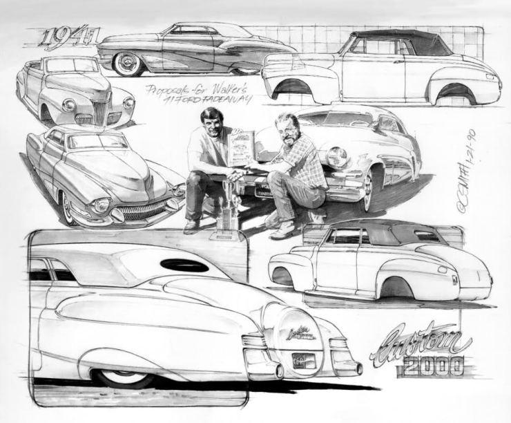 Charlie Smith artwork of Jack Walker and Doug Thompson