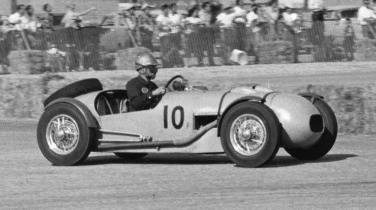 George Beavis Terminal Island Road Races Jan. '54